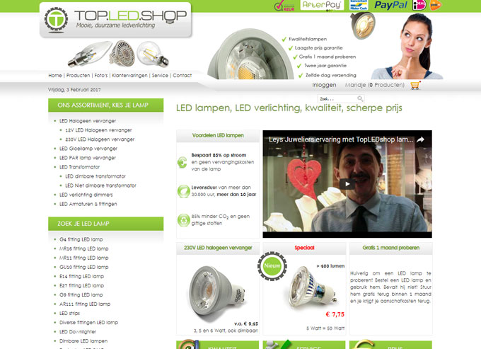 top led shop